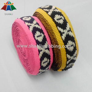 "1-3/4"" Inch Sp Line Jacquard Webbing for Garments pictures & photos"