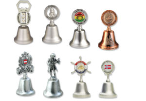 Customized Dinner Bell with Spinner for Souvenirs pictures & photos