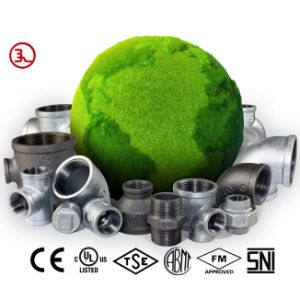 Malleable Iron Pipe Fittings Threaded Fittings pictures & photos
