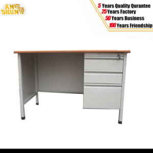Customized Woodern Top Steel Modern Desk pictures & photos