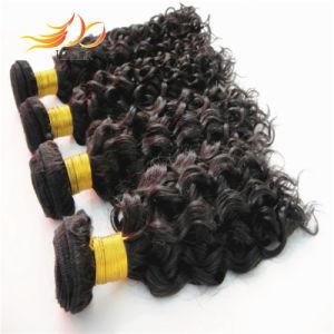 100% Vrigin Human Hair Jerry Curl Malaysian Hair Extension pictures & photos