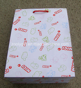 Fsc Certificated Printing Paper Shopping Gift Bags with Customize Logo Printed pictures & photos
