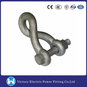 Hot DIP Galvanized Forged Carbon Steel Twist Shackle Pole Line Hardware pictures & photos