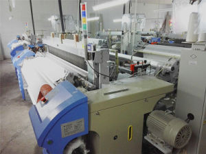 Cloth Making Machines Air Jet Loom Cotton Fabric Weaving Machinery pictures & photos