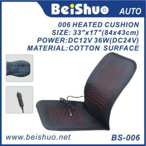 100% Polyester Heated Seat Cushion for Car pictures & photos