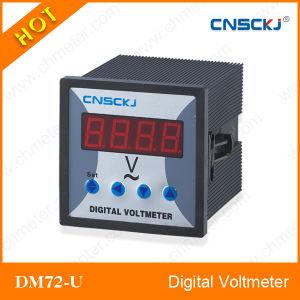 Dm72-U 72*72mm Digital AC Voltmeter