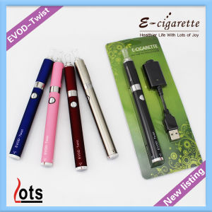 2014 New Design 510 Thread Connector Evod Twist Batteries Mod Evod Ecigs Kit Single Pen Blister Kit Pack with High Quality Super Vapor Power Feel Most Popular