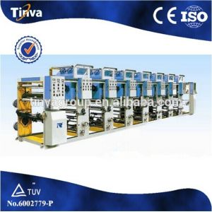 High Quality Asy Plastic Film Economical Gravure Printing Machine pictures & photos