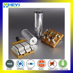 Capacitor Film Single Phase Electrical Power Supply Capacitor Compensate Reactive Wenzhou Liushi pictures & photos