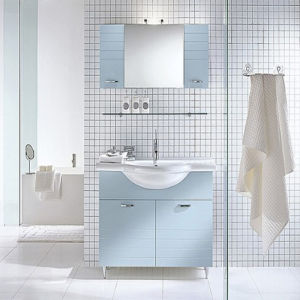 New PVC Bathroom Vanity with Good Quality pictures & photos