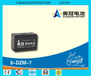 6-Dzm-7 Battery 12V7ah Gel Battery for E-Bike/Scooter