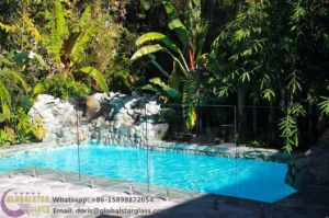 10mm, 12mm Clear Framless Toughened Glass Pool Fencing with Ce, AS/NZS2208 pictures & photos