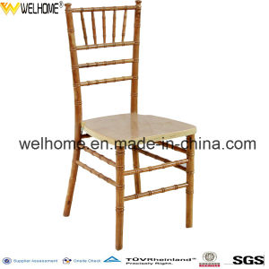 Natural Wooden Chiavari Chair pictures & photos
