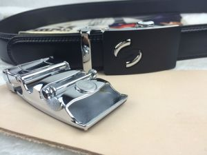 Holeless Leather Belts for Men (RF-160603) pictures & photos
