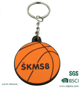 Promotional Soft PVC Rubber Keyring (xd-019) pictures & photos