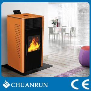 Smoke-Free Modern Design Cheap Pellet Stove/Fireplace (CR-07) pictures & photos