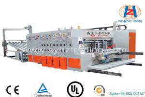 Hz-Sykm4212/3012 High Speed Flexo Printing&Slotting&Rotary Die-Die-Cutting Machine
