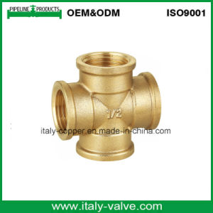 1/2′′ Equal ISO9001 Certified Quality Brass Cross (ZS-BF-7014) pictures & photos