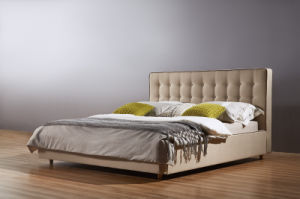 New Classic Fabric Bed, Bedroom Furniture (A06) pictures & photos