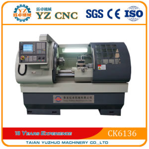Ck6136 Flat Bed Type CNC Lathe Machine pictures & photos