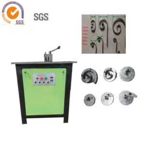 Scroll Pattern Bending Machine for Flat Iron, Square Steel pictures & photos