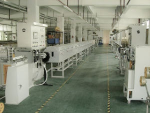 Manufaturing Equipment Silicone Wire Extrusion Line Cable Machine pictures & photos