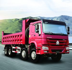 China Best Dump Truck of HOWO Truck 8X4