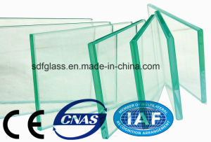 Clear/Tinted/Safety/Toughened/Curved Tempered Glass with Ce. ISO