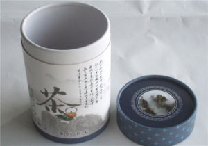 Promotion Tube Round Paper Gift Tea Packaging Box pictures & photos