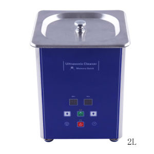 Ultrasonic Cleaner/Cleaning Machine Ud50s-2lq with Memory Storage