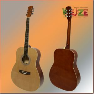 "41""Spruce Linden Plywood Acoustic Guitar for Wholesale China pictures & photos"