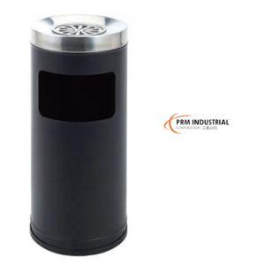 Black Powder Coated Steel Indoor Dustbins pictures & photos