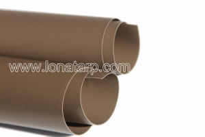 Tree Root Brown PVC Tarpualins Coated 500d 18X17