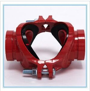 Ductile Iron Pipe Fittings Standard Grooved Pipe Fittings Mechanical Cross 300psi Fire Fighting pictures & photos