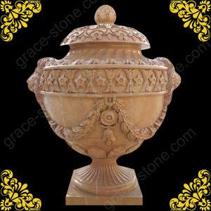 Natural Stone Urn, Garden Planter, Marble Flower Pot (GS-FL-016) pictures & photos
