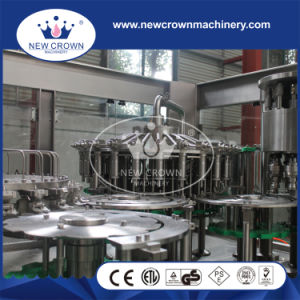 China High Quality Monoblock Auto Pure Water Machine for 0.15-2L Bottle pictures & photos