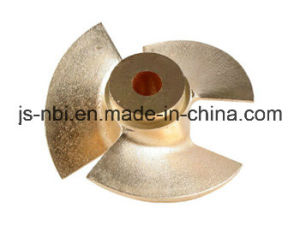 OEM Sand Casting Brass Turbine Part for Mechanical Tools pictures & photos