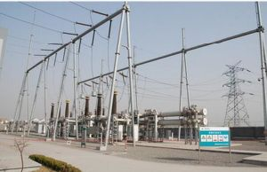 500 Kv Angle Steel Power Transmission Substation Structure pictures & photos