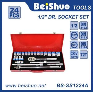 24PC 1/2′′ Dr. Socket Set pictures & photos