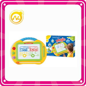 Plastic Kids Drawing Board Toy Educational Magnetic Drawing Board