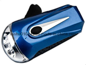 Wind up Dynamo LED Flashlight (Torch) (14-1R0608) pictures & photos