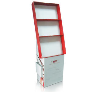 Tray Cardboard Display, Paper Display for Phone Accessories, Cardboard Floor Display Stand pictures & photos