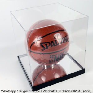 Customized Acrylic Basketball Display Boxes pictures & photos