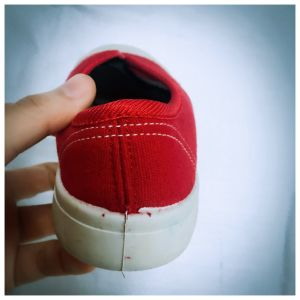 Rubber Shoe for Kids with Shoelace pictures & photos