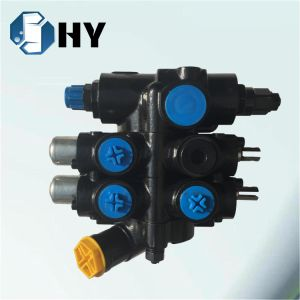 Hydraulic steering valves 2 spool lever control valve for seeder