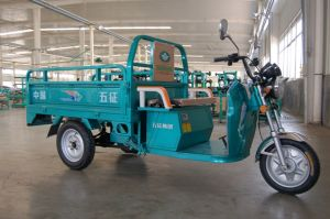 Electric Three Wheeler Passenger Electric Tricycle pictures & photos