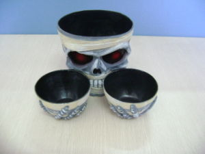 Halloween Party Toys Tableware Skull Bowl