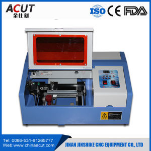 Small Laser Cutting Machine Mini CNC Desktop Laser Engraver Cutter MDF Plastic Stamp 40 Watt Acrylic Laser Engraving Machine pictures & photos