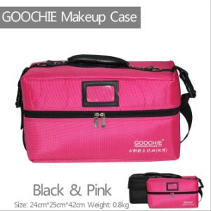 Professional Portable Cosmetics Beauty Makeup Case Box Carry Bag pictures & photos