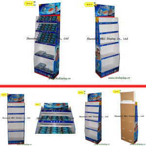 Toothpaste Cardboard Display Case / Cardboard Display Pallet (B&C-A021) pictures & photos